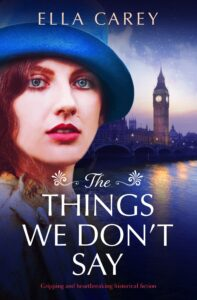 The Things We Don't Say book cover