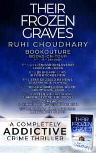 Their Frozen Graves blog tour banner