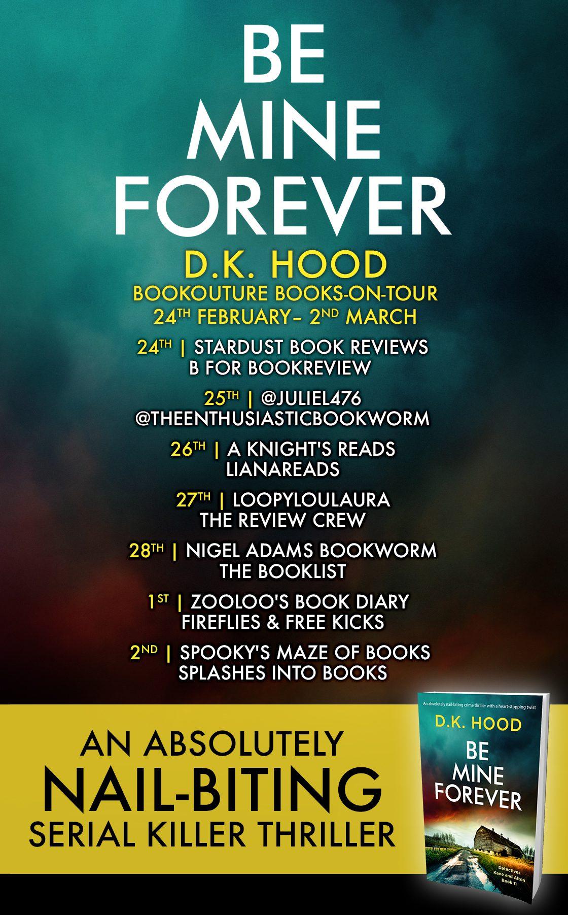 Be Mine Forever blot tour banner