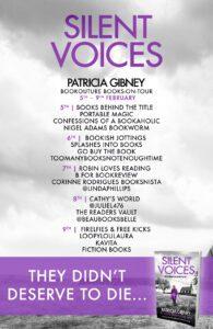 Silent Voices blog tour banner
