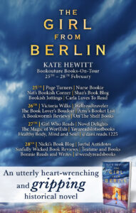 The Girl from Berlin blog tour banner