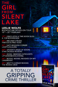 The Girl From Silent Lake blog tour banner