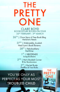 The Pretty One blog tour banner