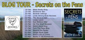 Secrets on the Fens blog tour banner