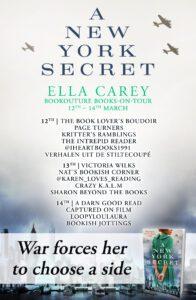 A New York Secret blog tour banner