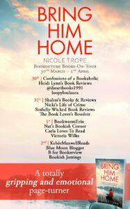 Bring Him Home blog tour banner