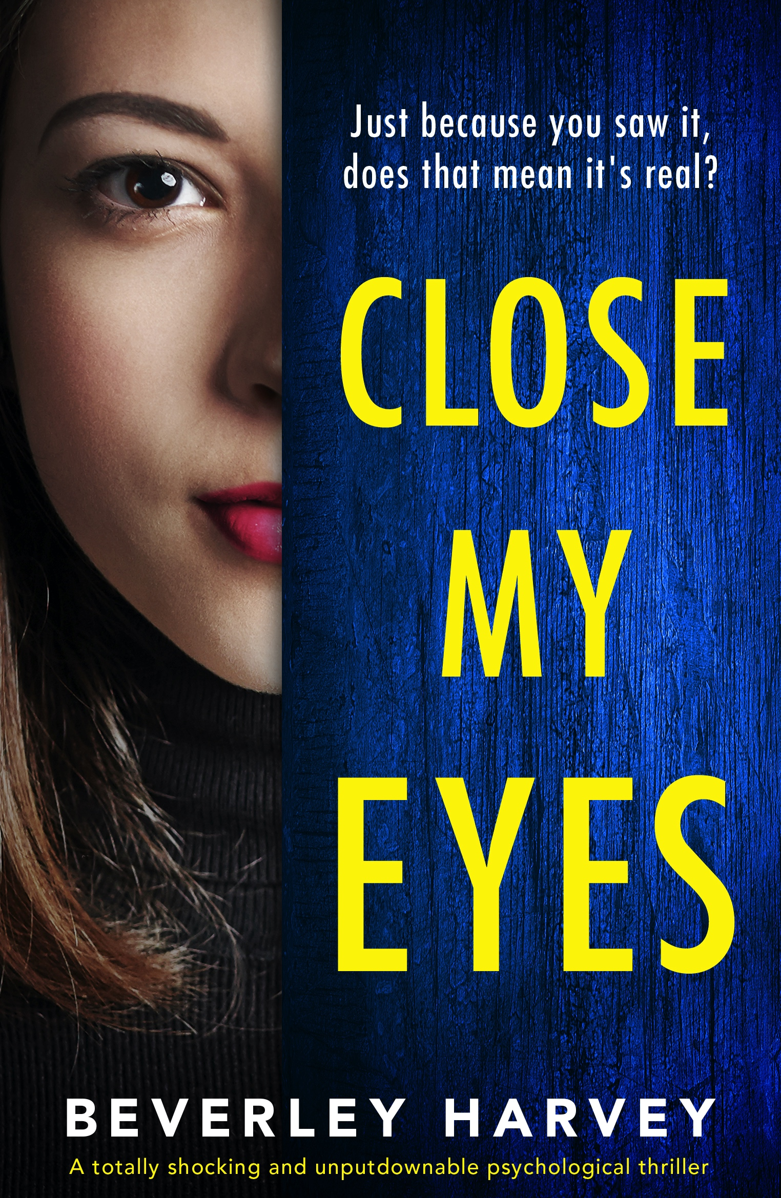 Close My Eyes book cover