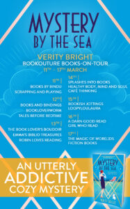 Mystery By The Sea blog tour banner