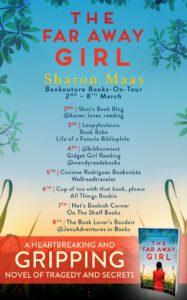 The Far Away Girl blog tour banner