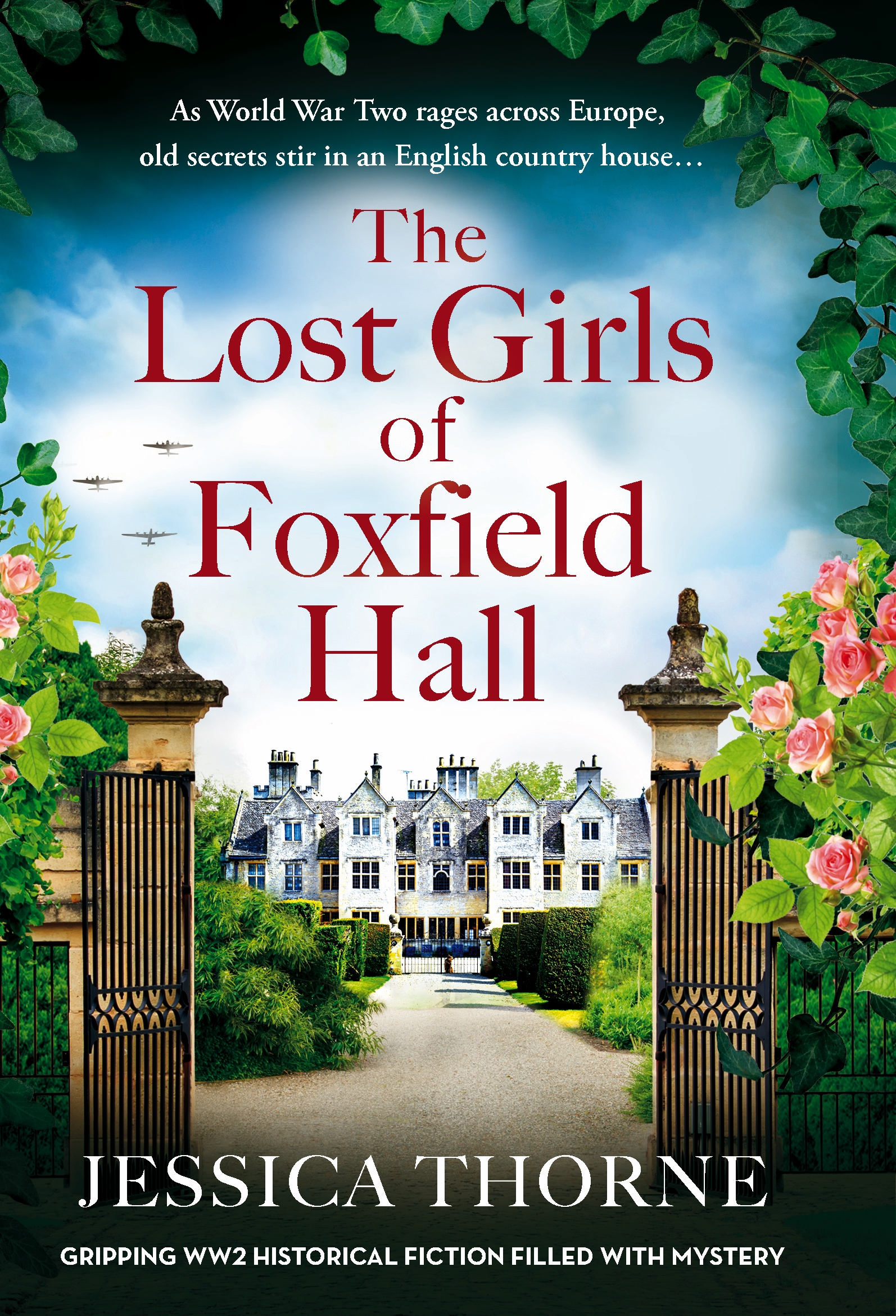 The Lost Girls Of Foxfield Hall book cover