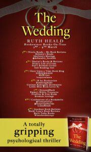 The Wedding blog tour banner