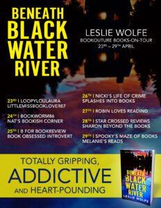 Beneath Blackwater River blog tour banner