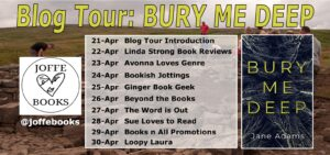 Bury Me Deep blog tour banner