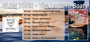 The Lantern Boats blog tour banner