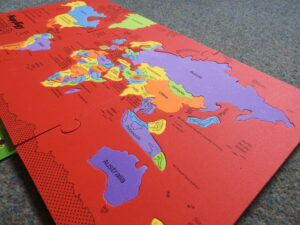 completed Imagimake Mapology world