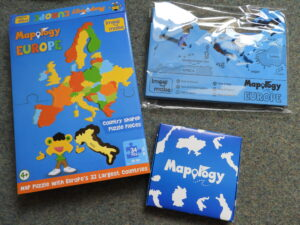 contents of Europe Imagimake Mapology