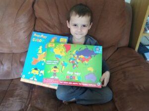 Imagimake Mapology puzzles