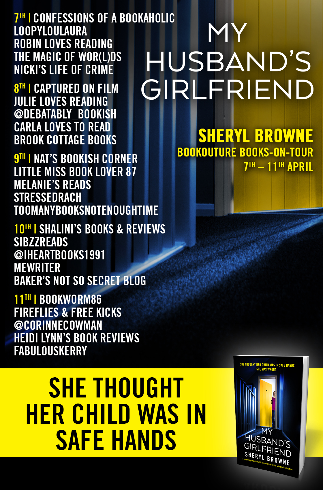 My Husband's Girlfriend blog tour banner