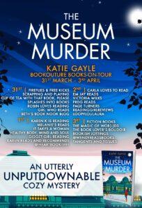 The Museum Murder blog tour banner