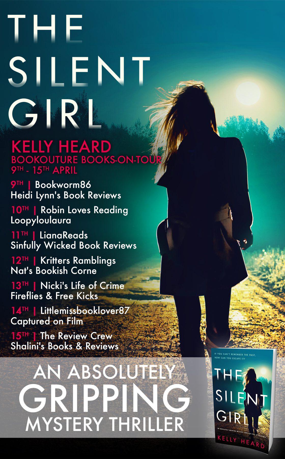 The Silent Girl blog tour banner