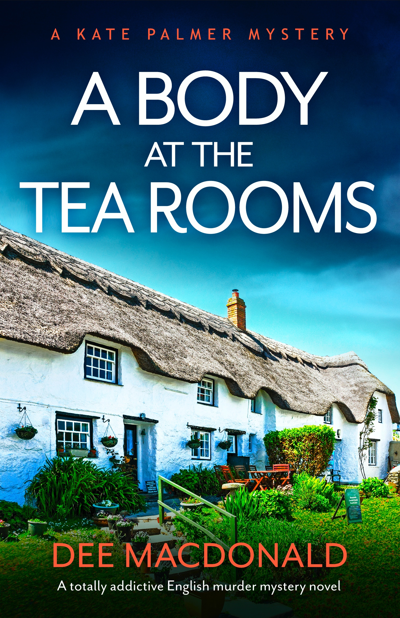 A Body At The Tea Rooms book cover