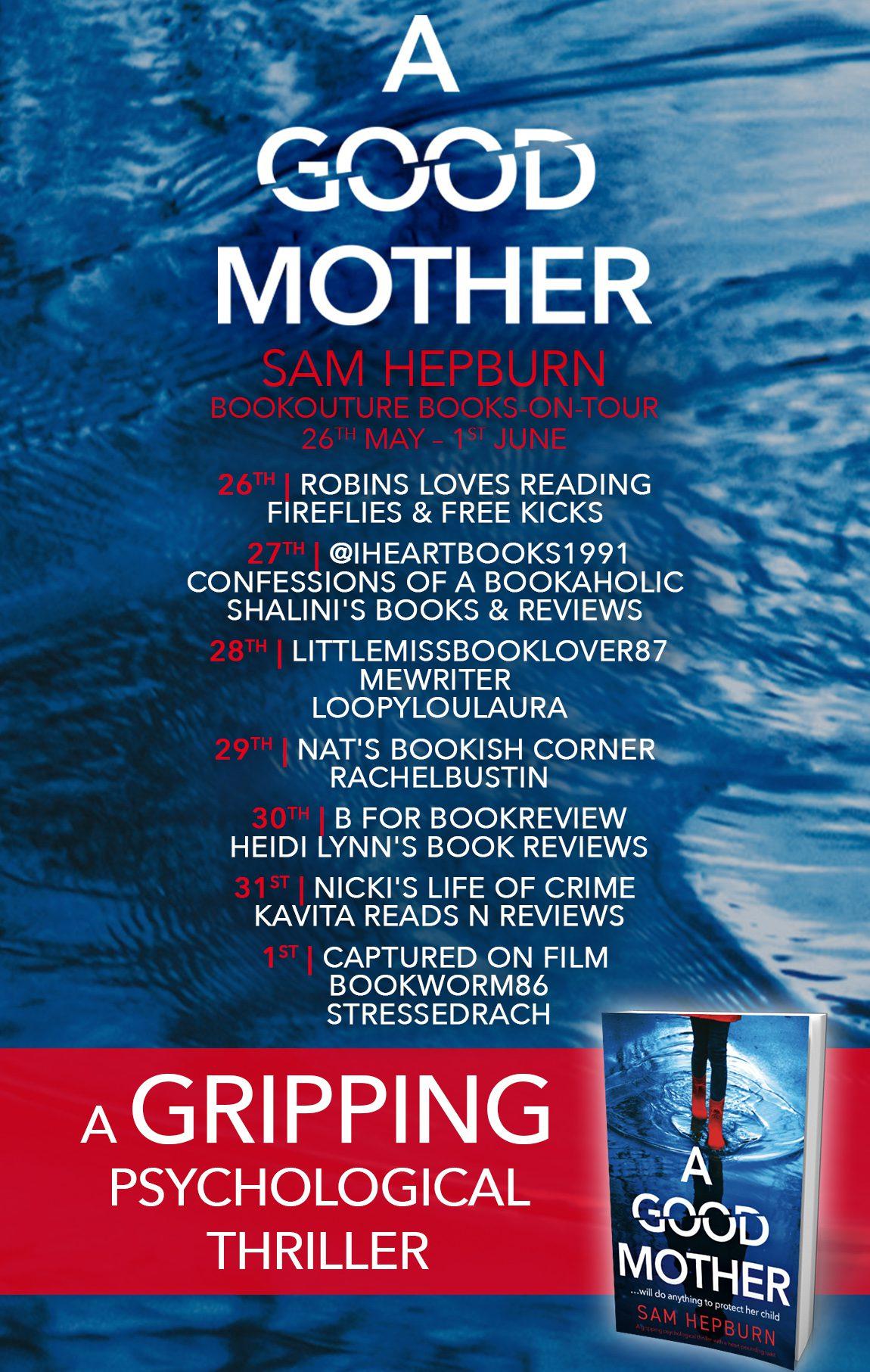 A Good Mother blog tour banner