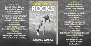 Body on the Rocks blog tour banner