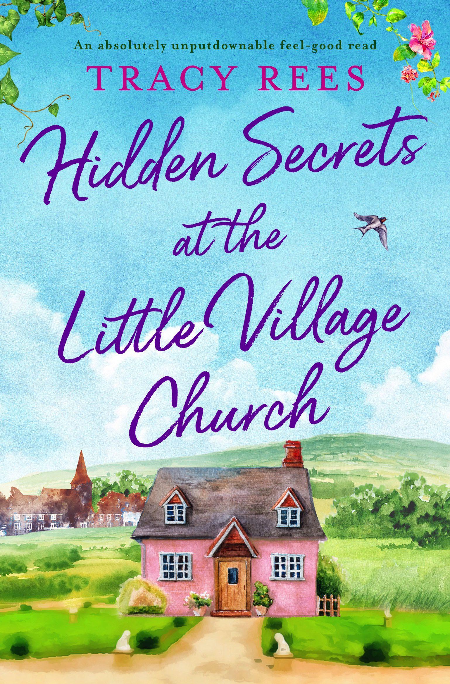 Hidden Secrets at the Little Village Church book cover