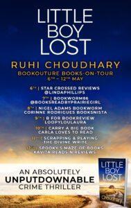 Little Boy Lost blog tour banner