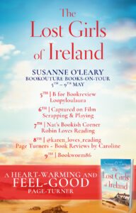 The Lost Girls of Ireland blog tour banner