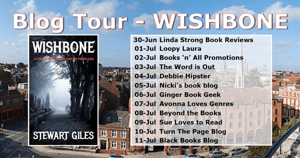 Wishbone blog tour banner