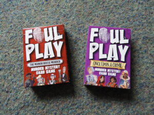 Foul Play boxes