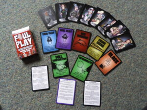 Foul Play game contents