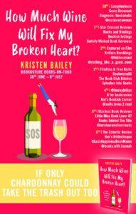 How Much Wine Will Fix My Broken Heart? blog tour banner