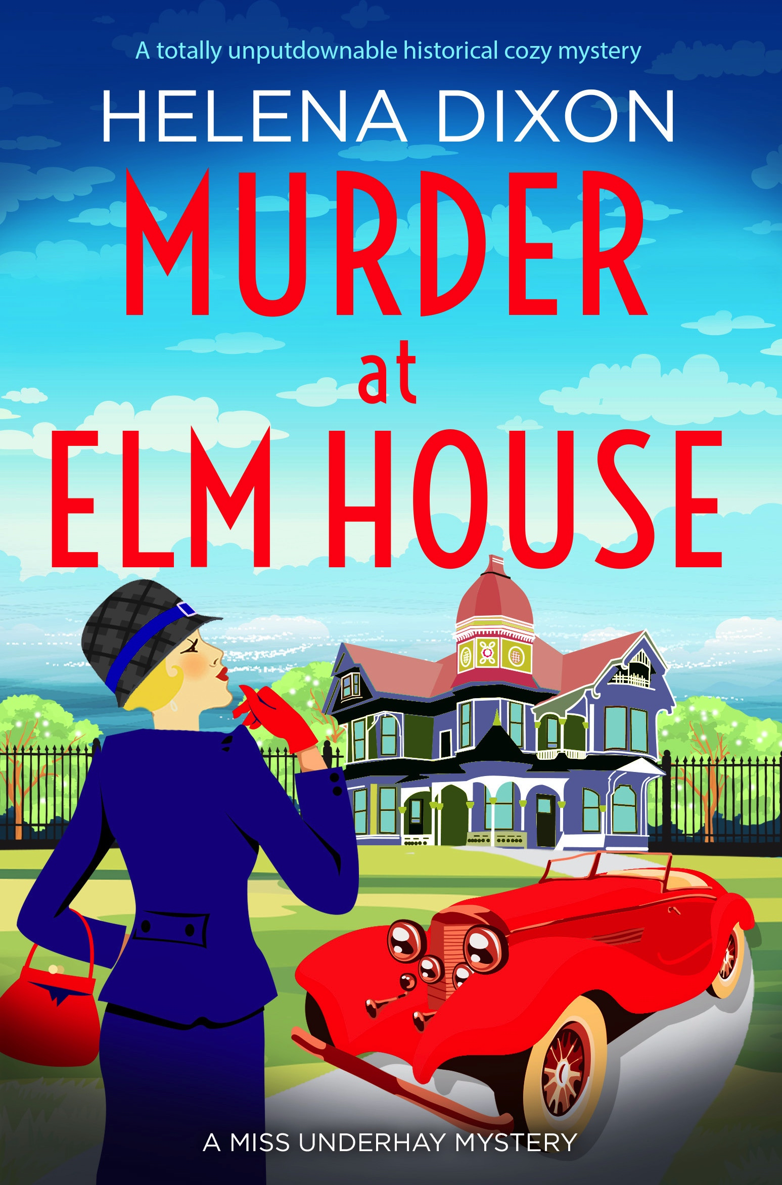 Murder at Elm House book cover