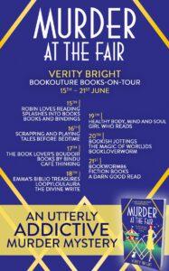 Murder at the Fair blog tour banner