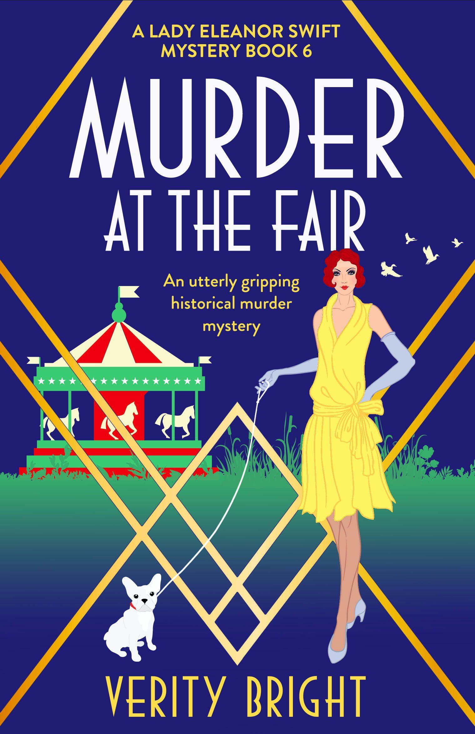 Murder at the Fair book cover