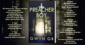 Preacher Boy blog tour banner