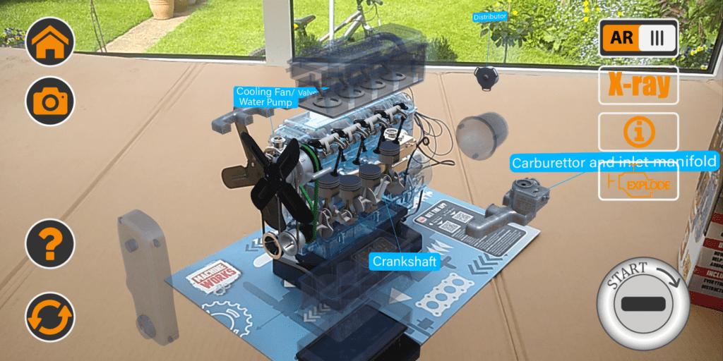 Machine Works Haynes 4 Cylinder Engine app
