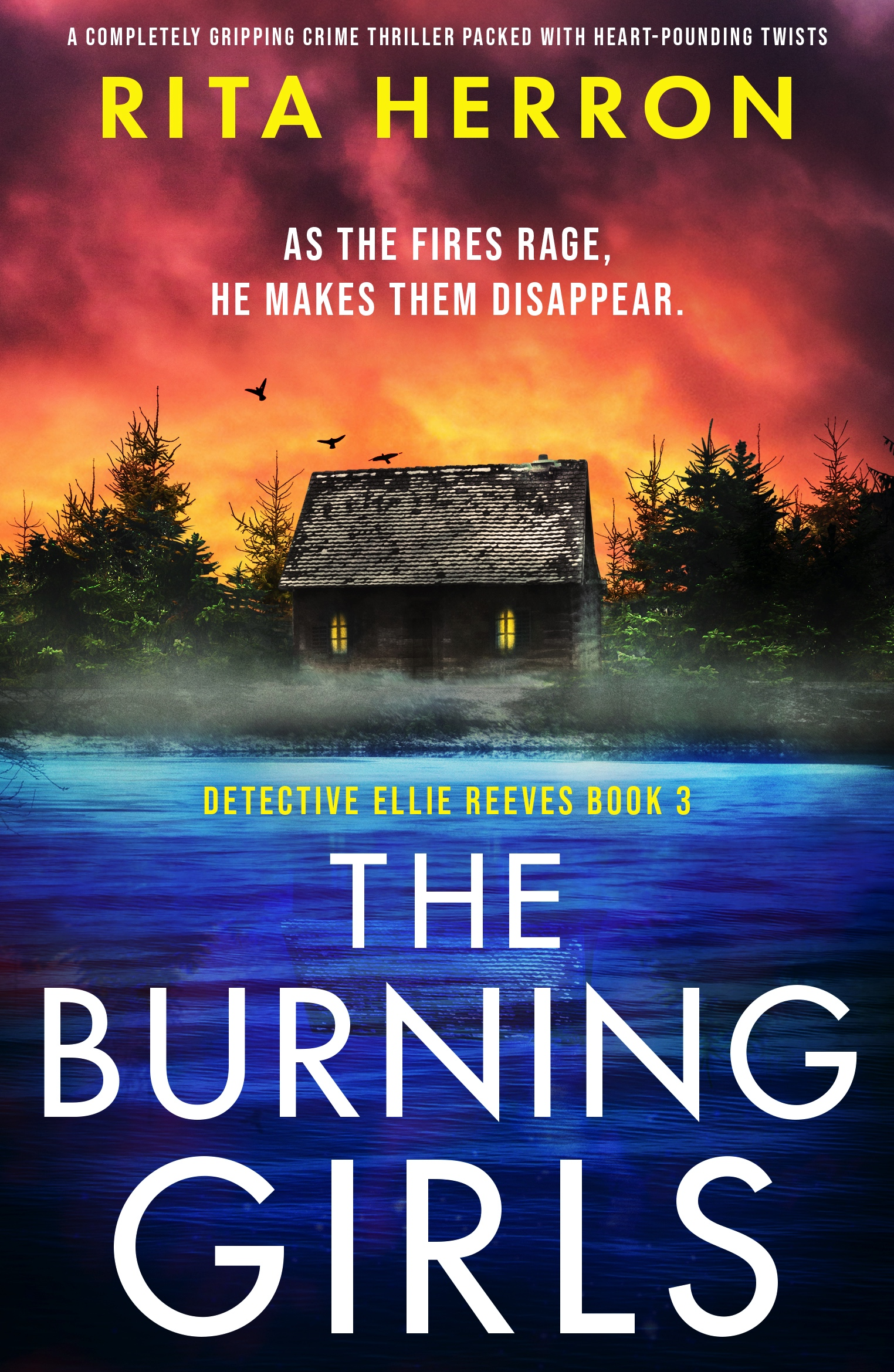 The Burning Girls book cover