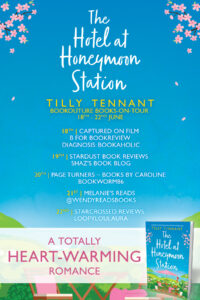 The Hotel at Honeymoon Station blog tour banner