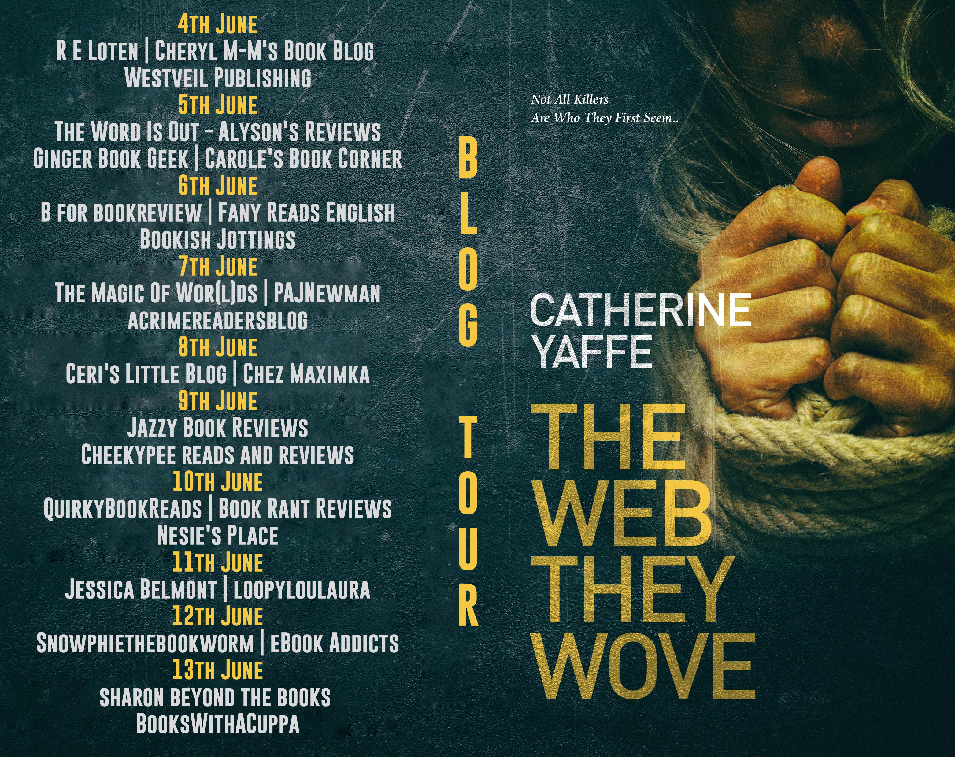 The Web They Wove blog tour banner