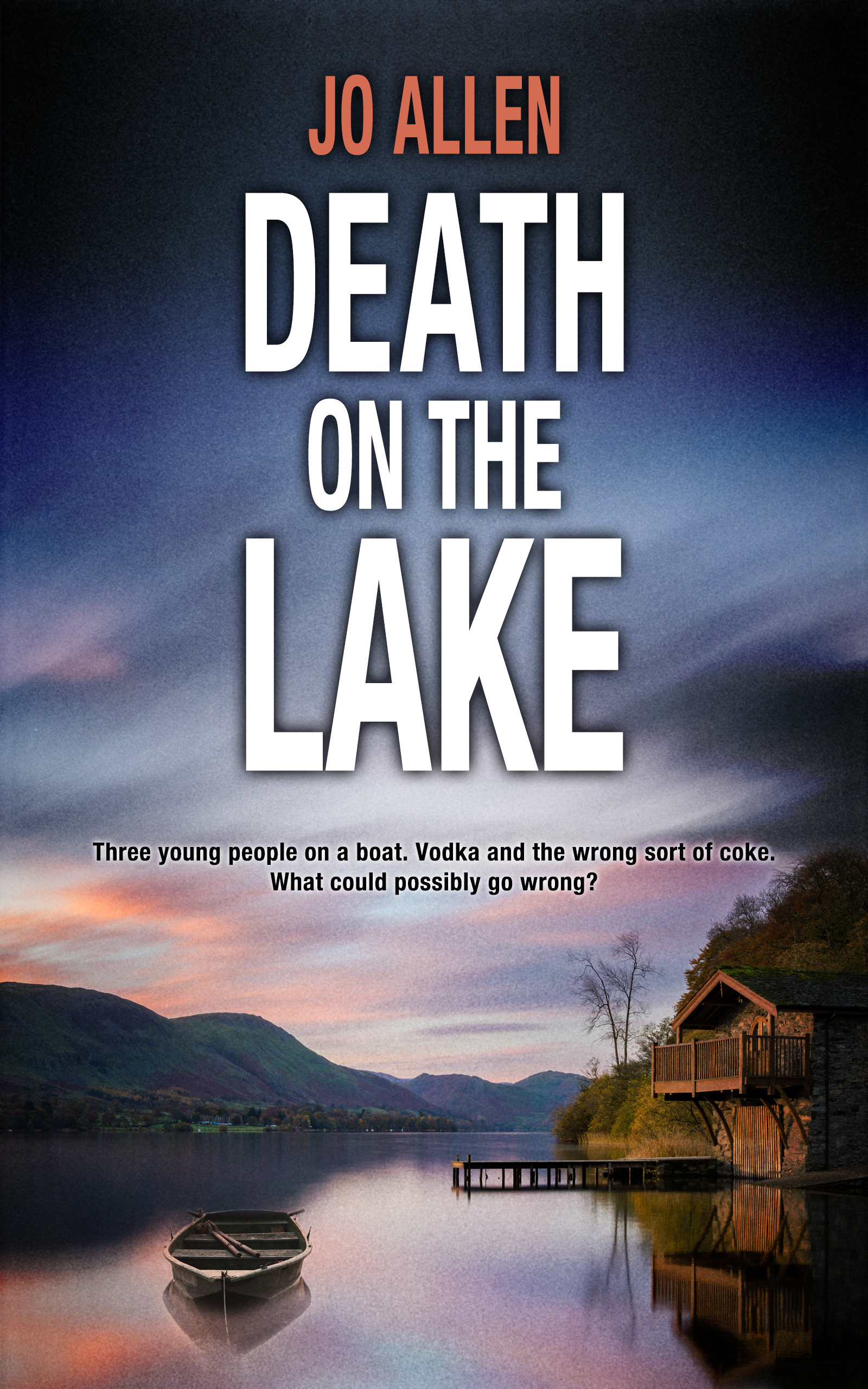 Death on the Lake book cover