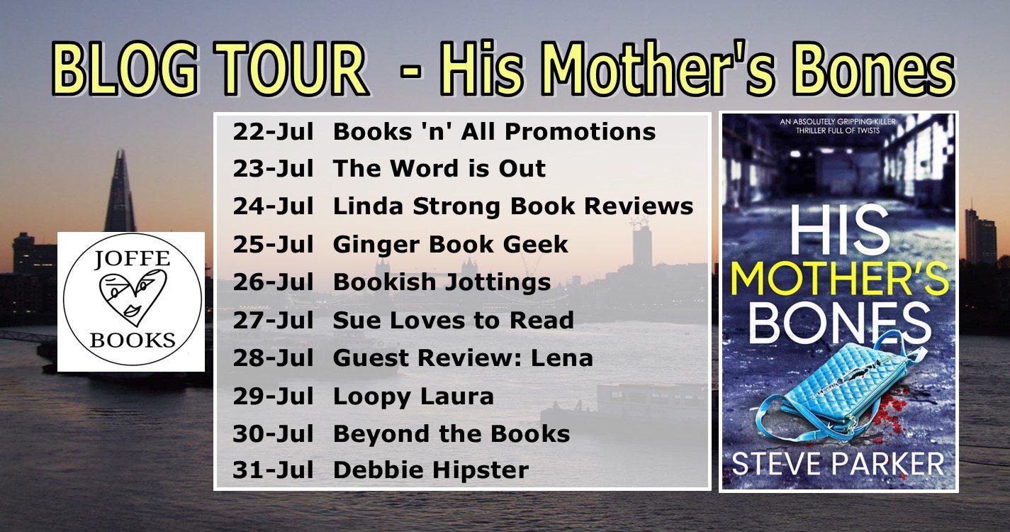 His Mother's Bones blog tour banner