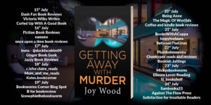 Getting Away With Murder blog tour banner