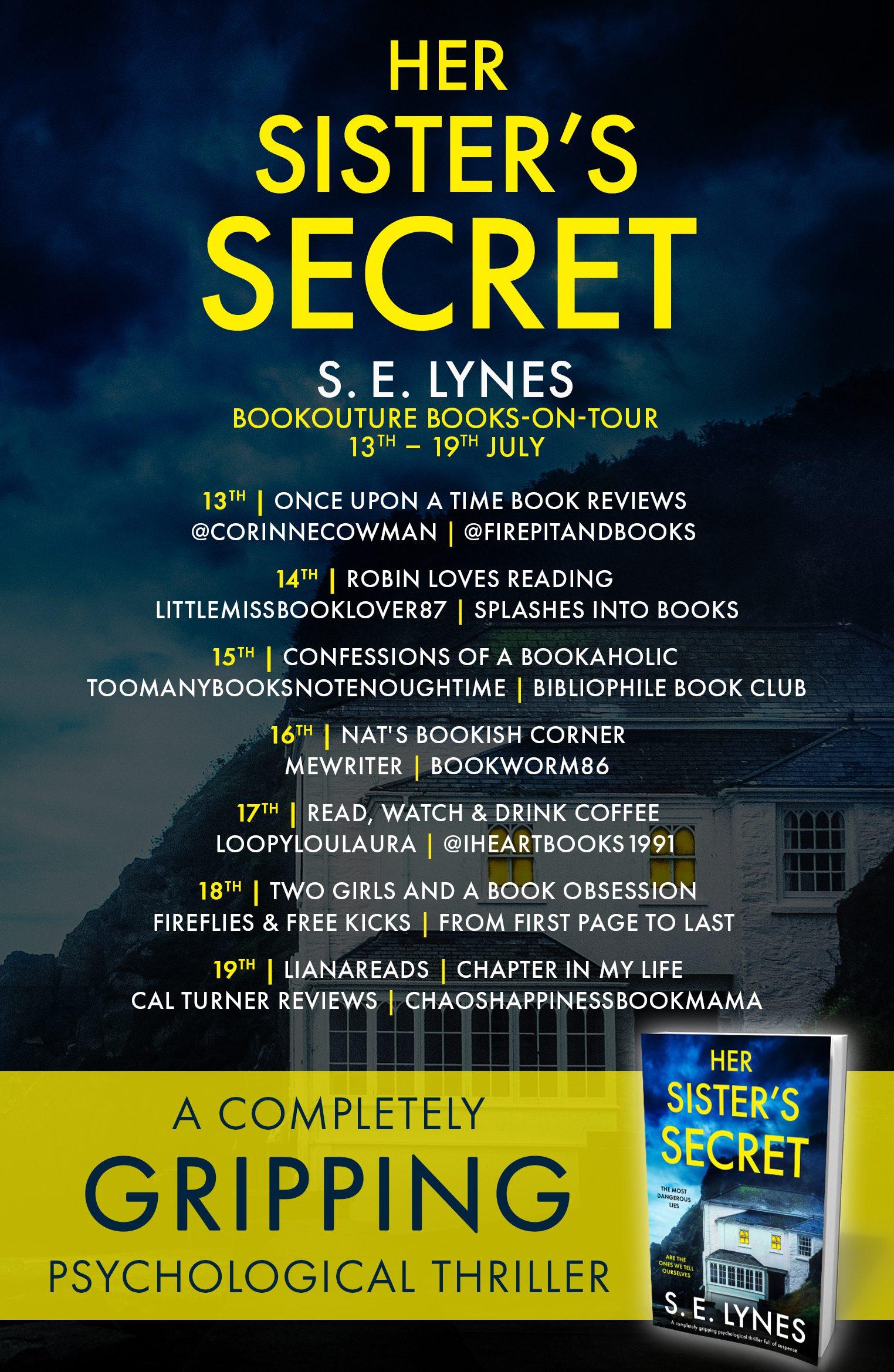 Her Sister's Secret blog tour banner