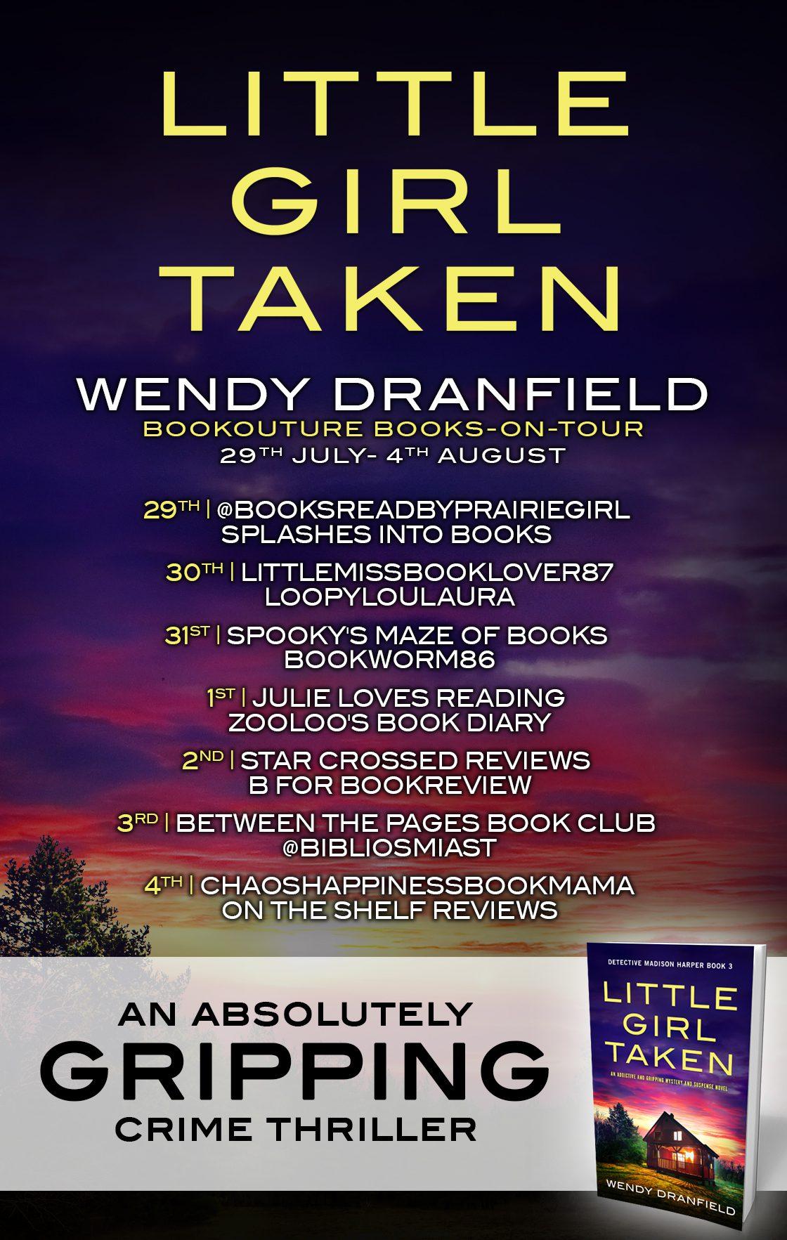 Little Girl Taken blog tour banner