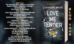 Love Me Tender blog tour banner