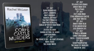 The Corfe Castle Murders blog tour banner
