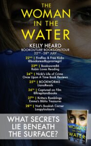 The Woman in the Water blog tour banner